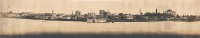 """Baton Rouge Waterfront During High Water"""